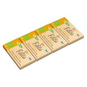 Mini tabletas de chocolate con leche sin fructosa sin lactosa