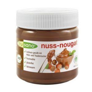 Crema de cacao con avellanas para dieta muy baja en fructosa.