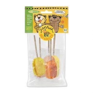 Piruletas de naranja y limón