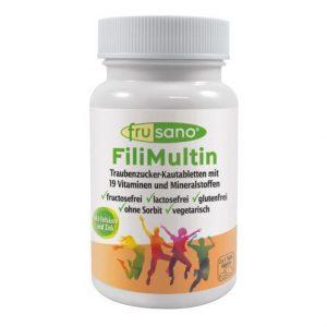 Complemento vitaminico sin fructosa sabor naranja