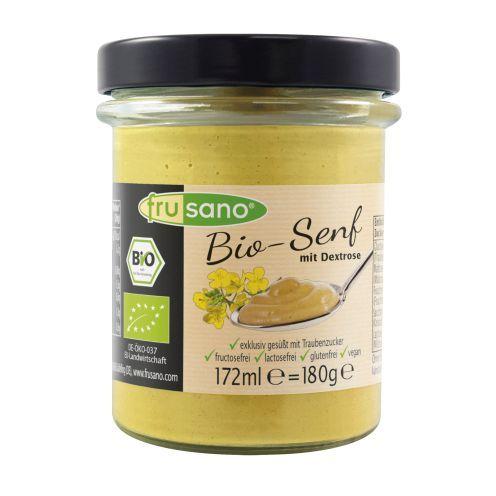 Mostaza orgánica sin fructosa