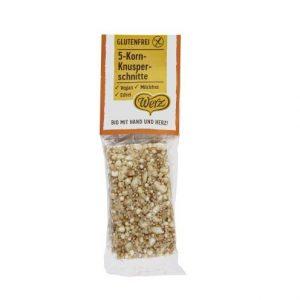 Snack crujiente de cereales
