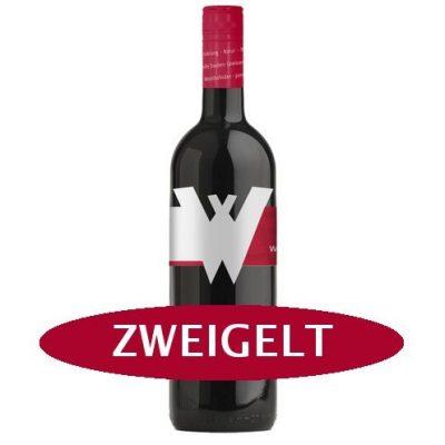 Vino tinto sin fructosa Zweigelt