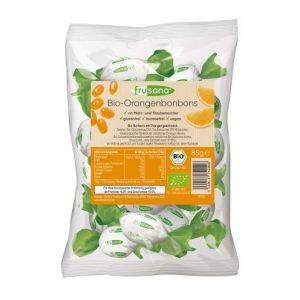 Caramelos del naranja sin fructosa