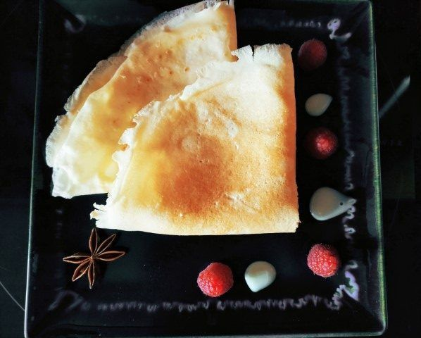 Crèpes sin fructosa, sin lactosa y sin gluten