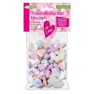 Caramelos de corazones sin fructosa